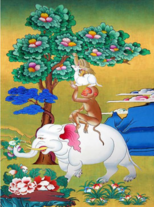 30-40-fantasy animals Pick peaches