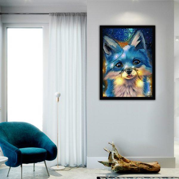 30-40-fantasy animal blue lovely