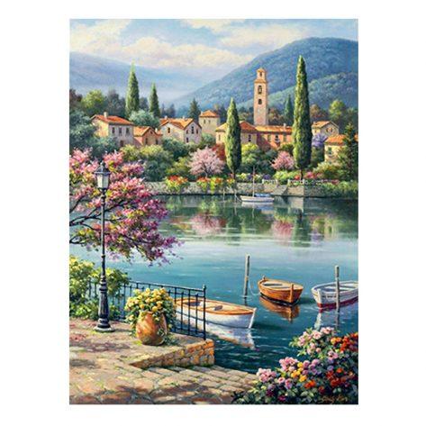 30-40 Scene2 Landscape Painting Spring