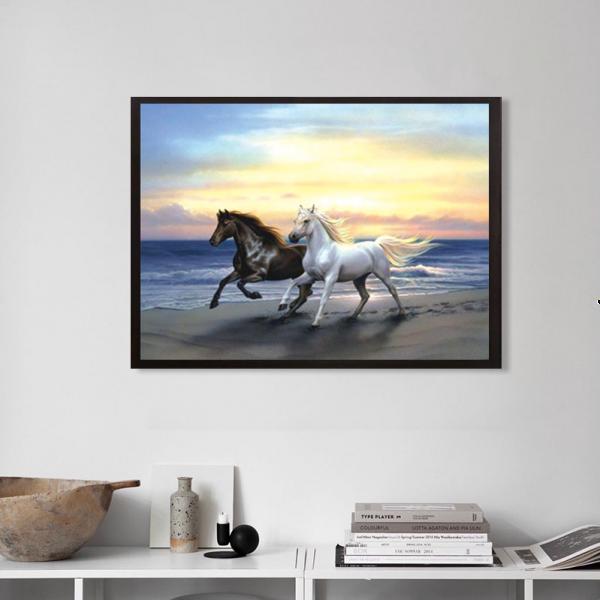 40-33-anima Horse Black And White Pentium