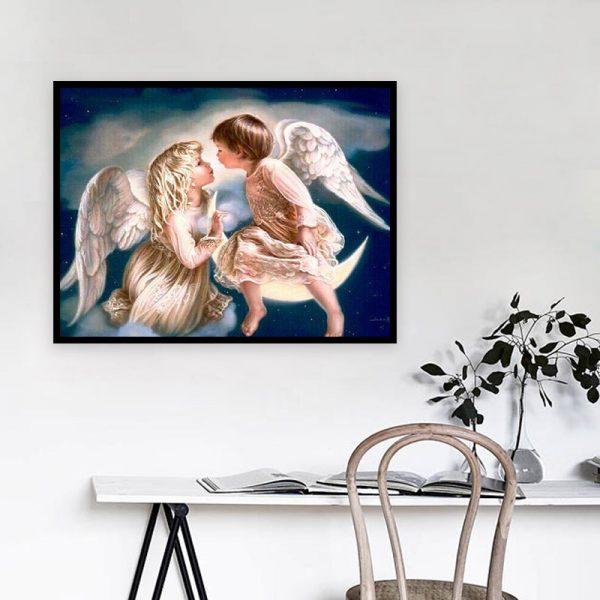 50-40-loveandromance Angel Baby Starry Sky