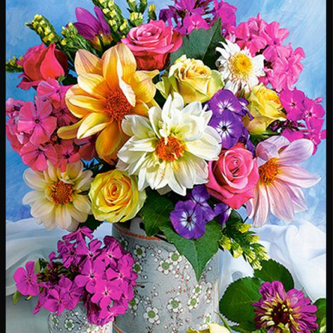 40-50-variety Colorful Flowers Bright