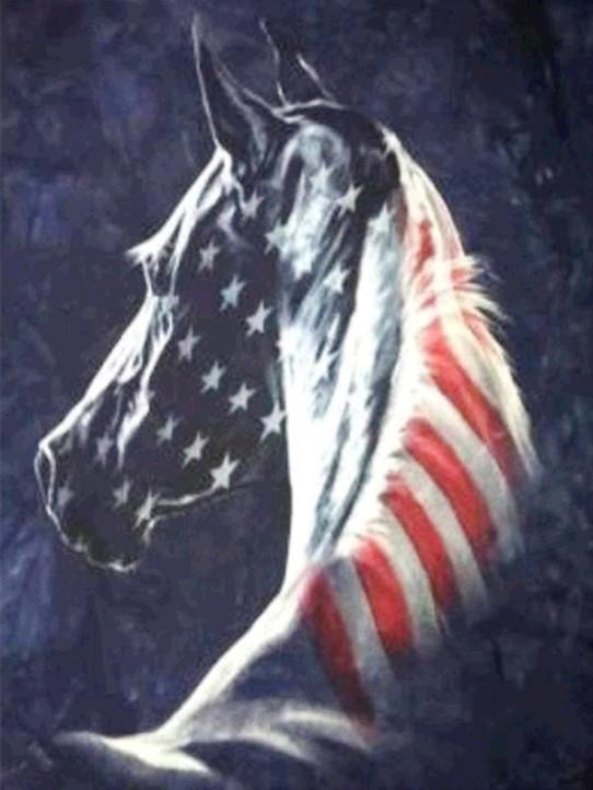40-50-variety Horse Flag Sign Animal