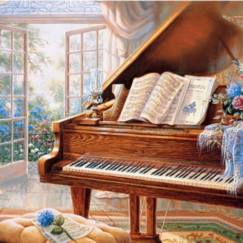 60-50-variety Piano Beautiful House