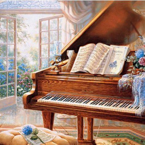 60-50-variety Piano Beautiful House