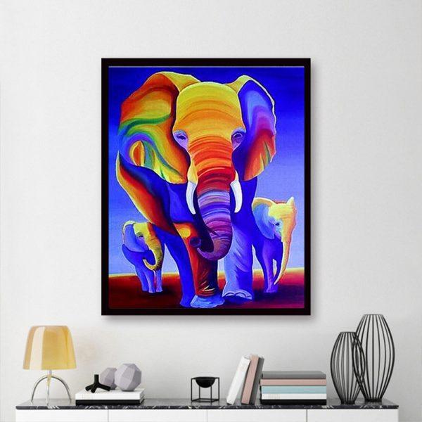 Animal Pretty Elephant Colorful