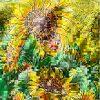 Scene Sunflower Light And Hope
