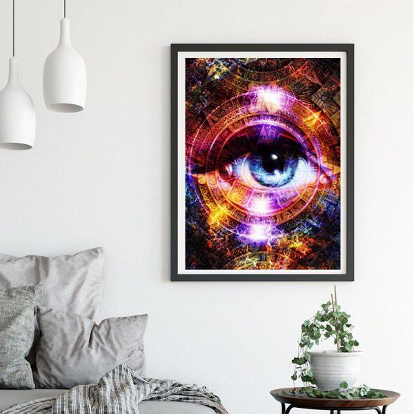 Variety Light Colorful Pretty Profound Eye