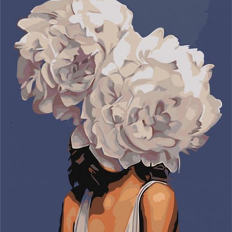 Variety Creativity Flowers And Women
