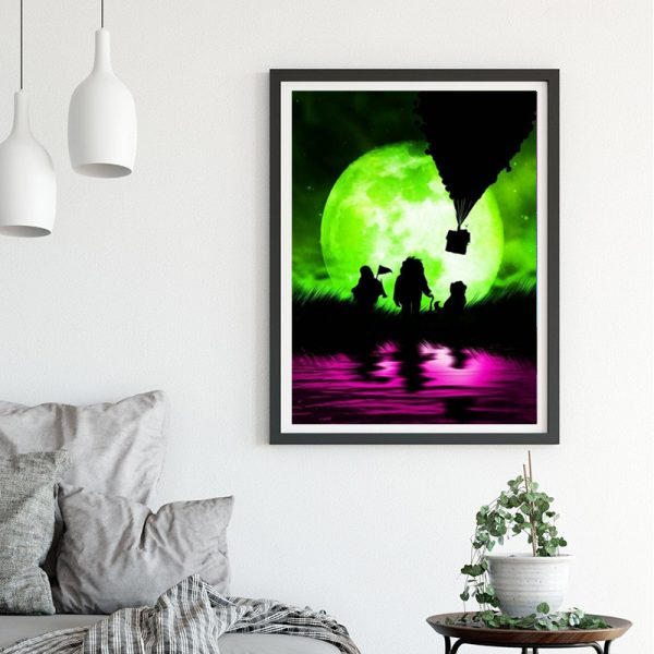 Variety Light And Shadow Fluorescent Green And Phosphor
