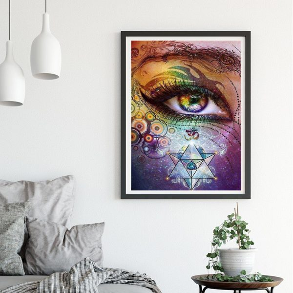 Variety Exquisite Eye And Painting