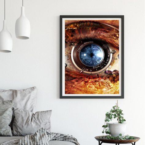 Variety Mechanical Eye Abstract Art
