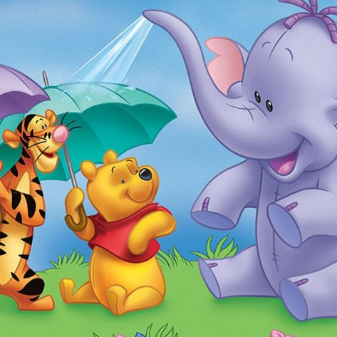 Classic Winnie The Pooh And Tigger And Lumpy