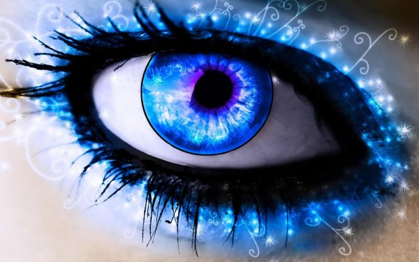 Big Imaginative Blue Eyes