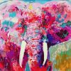 Imaginative Colorful Elephant