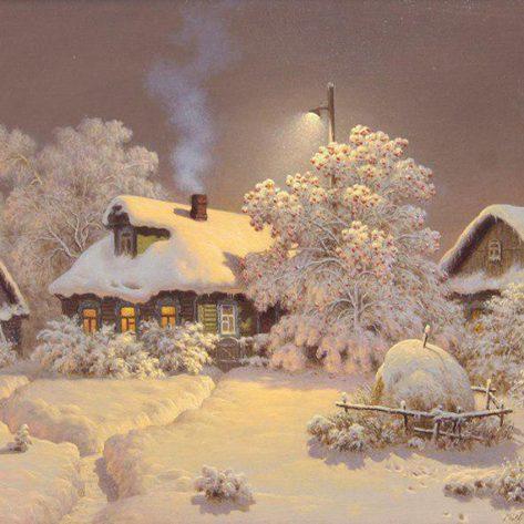 Quiet Snowy Winter