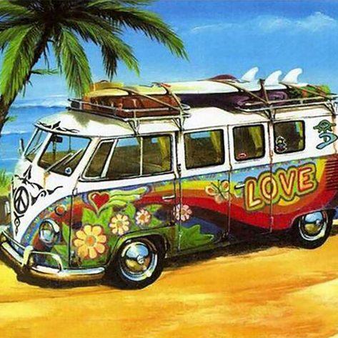 Love's Seaside Bus Stop Map