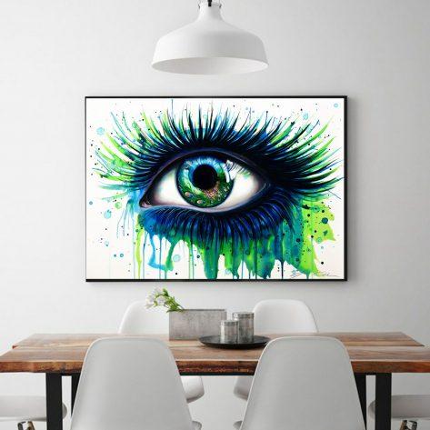 Creative Peacock Pupil