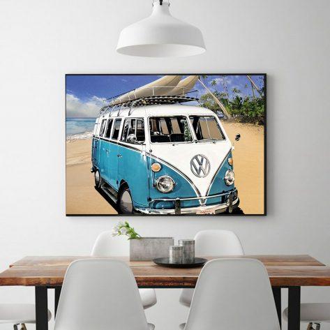 Travel Beach Bus