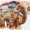 See Animals In Nature Through Elephants