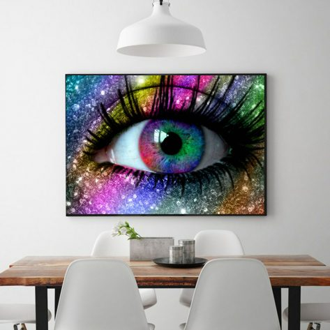 Creative And Colorful Eyes