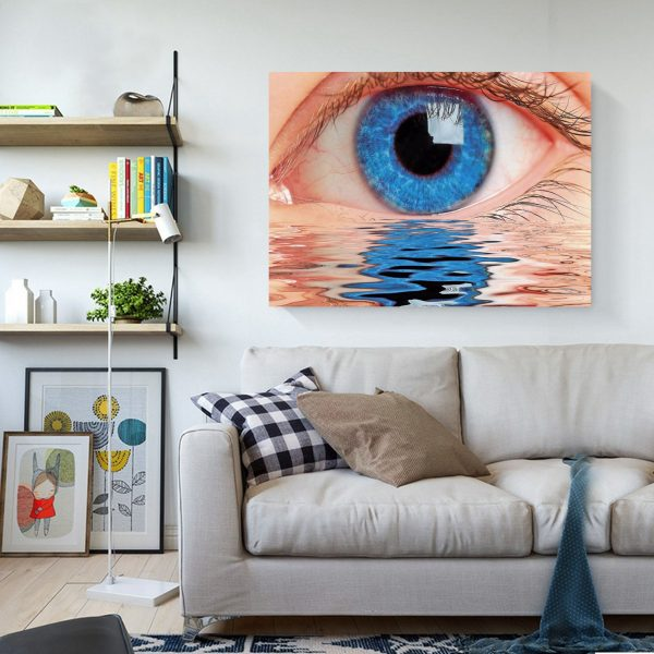 Blue Eyes And Running Water
